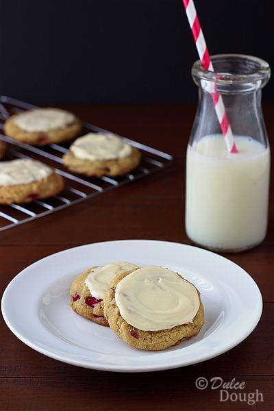 Rhubarb-Cookies