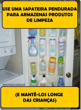 Dica - Guardar produtos de limpeza