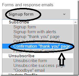 confirmation-thankyou-page-mailchimp