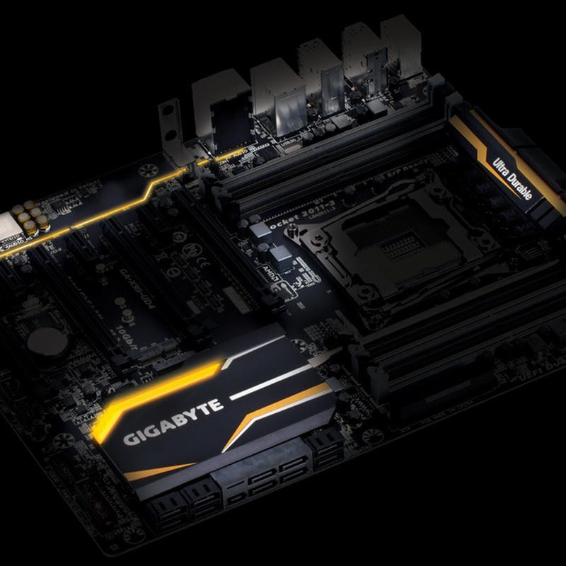Another GIGABYTE X99 Tease, the X99-UD4