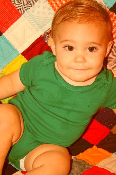 Nash is 12 months!!! 018