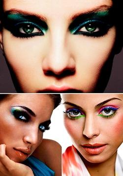 Maquiagem para Carnaval: Invista nas sombras vibrantes