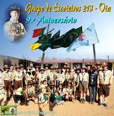 Gr. Escoteiros 213 - Ota