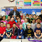 WBFJ Cicis Pizza Pledge - Westfield Elementary - Ms. Cannons 2nd Grade Class - Pilot Mtn - 1-21-15