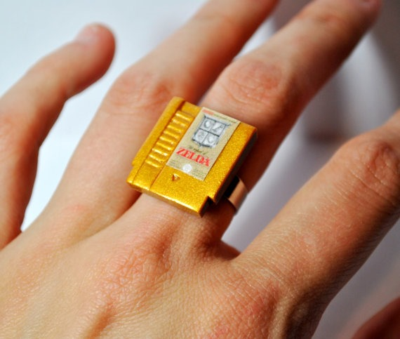 NES Nintendo Cartridge Ring by OhMyGeekness on Etsy