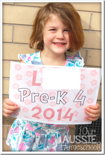 Ladybug's Curriculum 2014 | Preschool | Our Aussie Homeschool