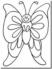 colorear mariposas pintaryjugar com (5)