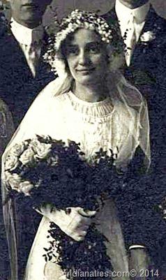 """Otillia """"Tillie"""" Kuhn Weber  - 1913"""