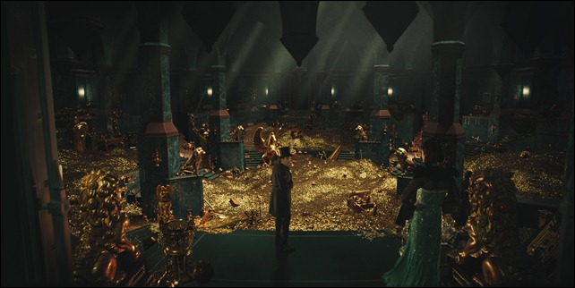 """""""OZ: THE GREAT AND POWERFUL""""<br /><br />James Franco, left; Rachel Weisz, right<br /><br />©Disney Enterprises, Inc. All Rights Reserved.<br />"""