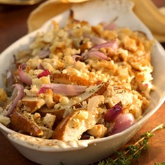 Pear and Red Onion Gratin