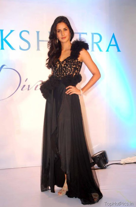 Katrina Kaif Hottest Pictures in Cute Black Dress 8