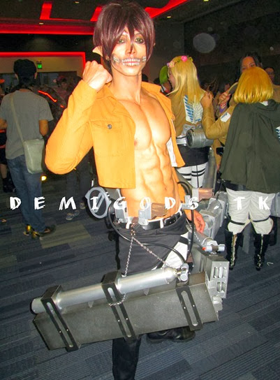 DEMIGODS: Hot male Cosplayer Jayem Sison at the Cosmania 2013