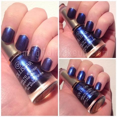 NOTD: 570 Blu Camaleonte Smalto Gloss Effetto Gel - Collistar