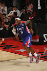 lebron james nba 130217 all star houston 56 game 2013 NBA All Star: LeBron Sets 3 pointer Mark, but West Wins