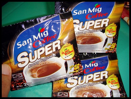 San Mig Coffee Super in 20g sachets 
