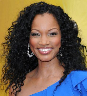 black curly hairstyle for women