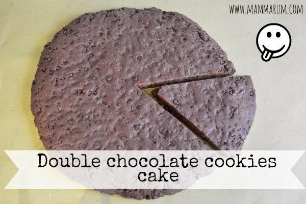 torta vegan gocce cioccolata