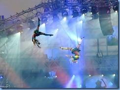 9586c Alberta Calgary Stampede 100th Anniversary - GMC Rangeland  Derby & Grandstand Show - Grandstand Show  - high wire acrobats