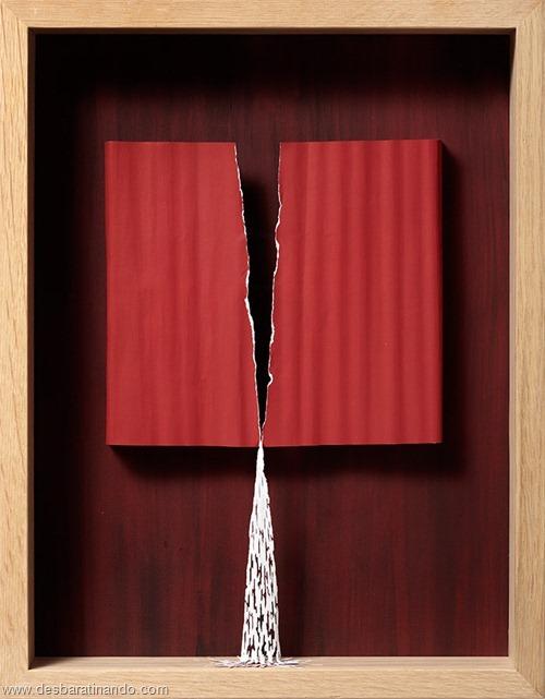 obras de arte em papel 3D origami Peter Callesen desbaratinando (37)