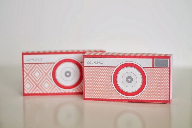 Camera Valentine Box
