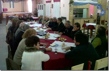 El Intendente compartió actividad con el Centro de Jubilados y Pensionados Talas del Sur de San Clemente