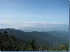 0306 Tennessee-North Carolina border - Smoky Mountain National Park - Clingmans Dome Rd - trail to Clingmans Dome