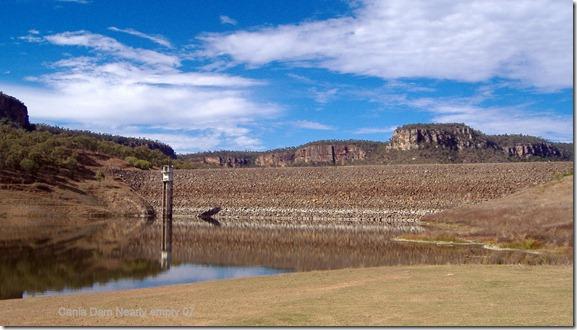 Cania Dam Nearly empty 07
