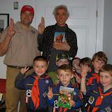 WBFJ Station Tour - Cub Scouts Den 109 - Winston-Salem - 1-26-15