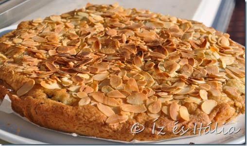 Linzertorták, mandulás sütemények