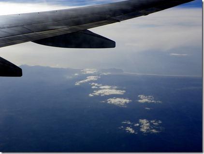 The Washington coastline.