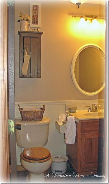 Primitive bathroom sets