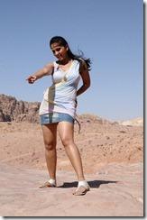Anushka Shetty Hot thighs in Ragada