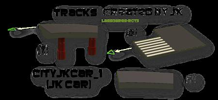 Cityjkcar_1  (JK Car) Custom Track (JK) lassoares-rct3
