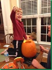 pumpkin carving 1