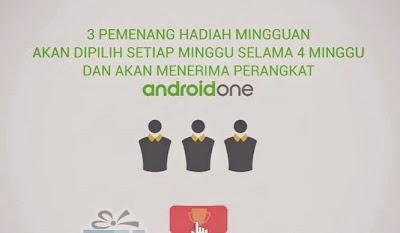 Kontes Google Satu Mulai Berhadiah Smartphone Android One