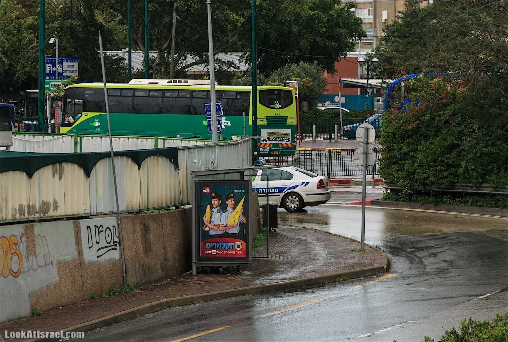 Сказ о том как одна маленькая, но гордая речка парализовала половину Израиля и весь Тель Авив (foto israel  фото тель авив и интересно и полезно дождь и снег  20130108 ta ayalon river 018 5D3 5652)