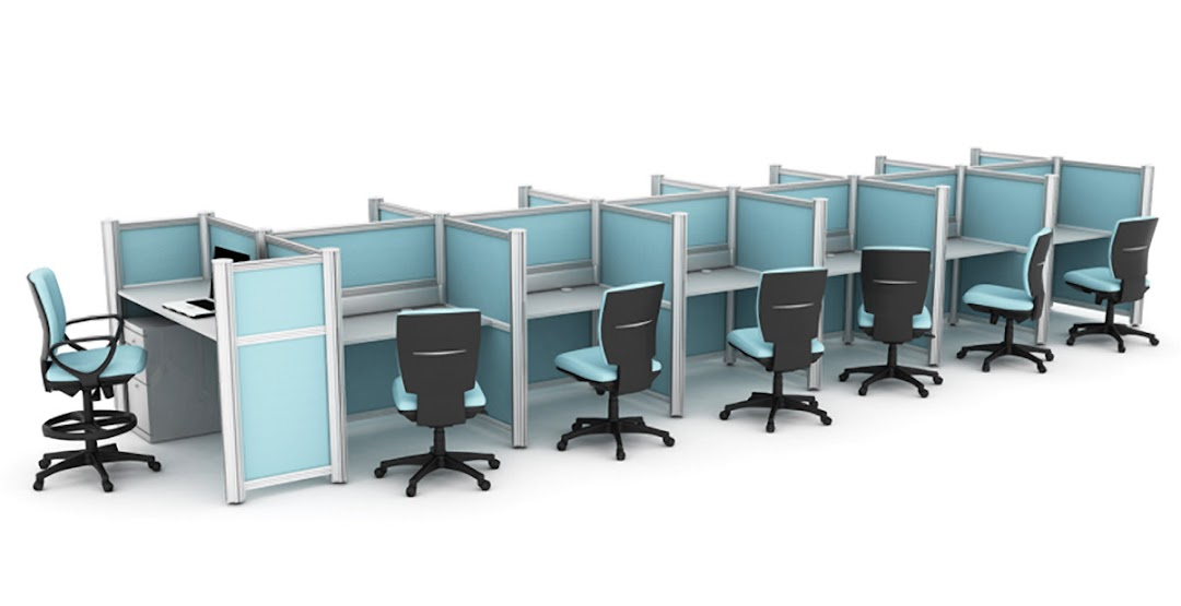 Estaciones call center muebles para call center axioma for Muebles para call center