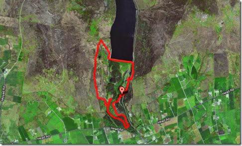 Mapa Silent Valley
