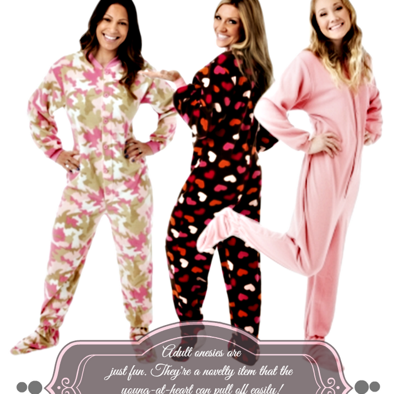 Footie Pajamas Aren't Just For Kids
