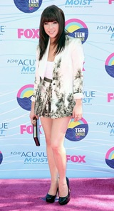 Carly Rae Jepsen Wore Different Dress