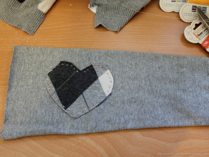 Upcycled Sweater to Heating Pad via homework - carolynshomework (2)