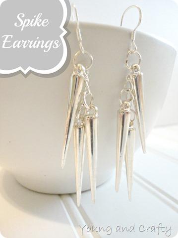 Spike Earrings 1