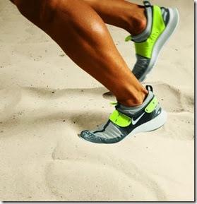treino na areia