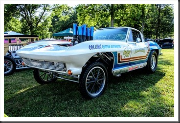 Corvette Gasser at Hot Rod Reunion