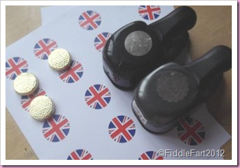 Diamond jubilee Crafts Elizabeth Shaw Mint Favours