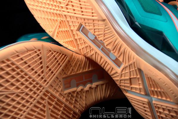 The Showcase Nike LeBron X 8220Setting8221  Miami Dolphins