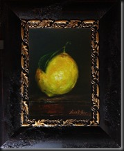 Lemon framed