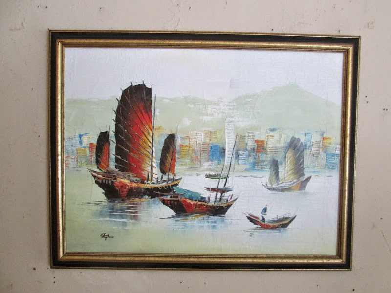 Harbor Painting
