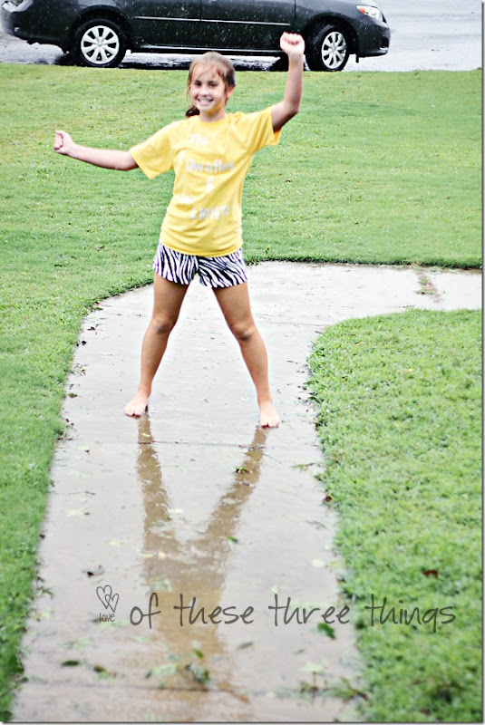 sam dancing in rain hurricane 2 blog