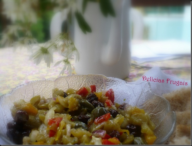Conserva de berinjela - Delicias Frugais